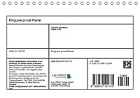 Pinguine privat Planer (Tischkalender 2019 DIN A5 quer) - Produktdetailbild 13