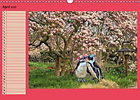 Pinguine privat Planer (Wandkalender 2019 DIN A3 quer) - Produktdetailbild 4