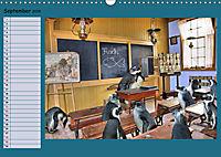 Pinguine privat Planer (Wandkalender 2019 DIN A3 quer) - Produktdetailbild 9