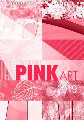 Pink Art (Tischkalender 2019 DIN A5 hoch), Susanne Sachers