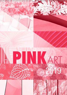 Pink Art (Wandkalender 2019 DIN A2 hoch), Susanne Sachers