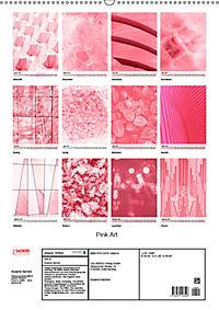 Pink Art (Wandkalender 2019 DIN A2 hoch) - Produktdetailbild 13