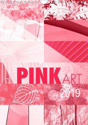 Pink Art (Wandkalender 2019 DIN A4 hoch), Susanne Sachers