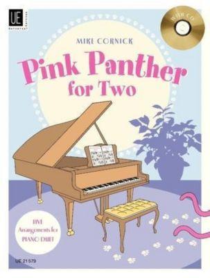 Pink Panther for Two, für Klavier zu 4 Händen mit Audio-CD, Henry Mancini