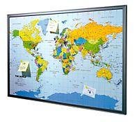 Weltkarte Pinnwand Passende Angebote Jetzt Bei Weltbildde