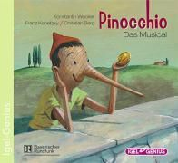Pinocchio, Das Musical, Audio-CD, Konstantin Wecker, Franz Kanefzky, Christian Berg