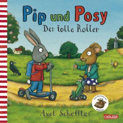 Pip und Posy - Der tolle Roller, Axel Scheffler