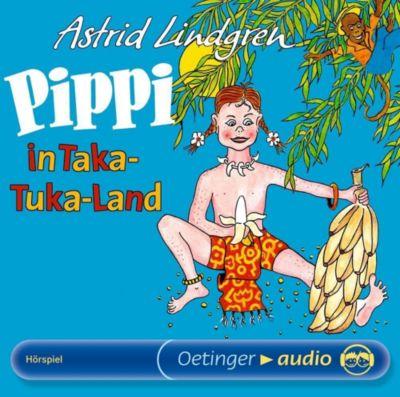 Pippi in Taka-Tuka-Land, 1 Audio-CD, Astrid Lindgren