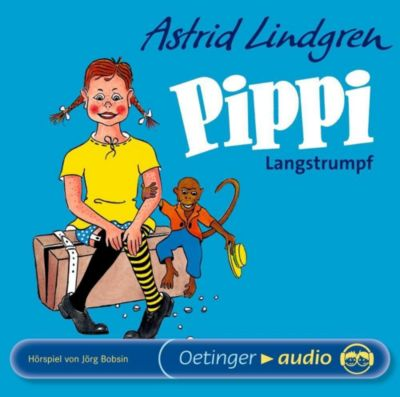 Pippi Langstrumpf, 1 Audio-CD, Astrid Lindgren