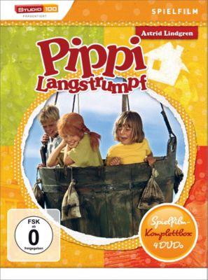 Pippi Langstrumpf - Spielfilm-Box, Astrid Lindgren