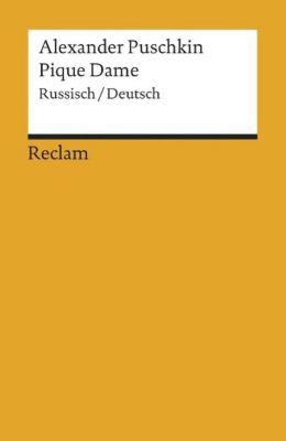 Pique Dame, Russisch-Deutsch - Alexander S. Puschkin  