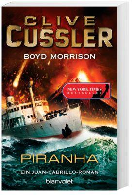 Piranha, Clive Cussler, Boyd Morrison