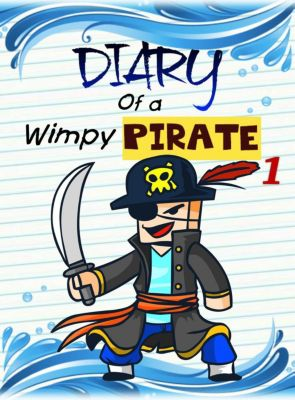 Pirate Adventures: Diary of a Wimpy Pirate 1: The Kraken's Treasure (Pirate Adventures, #1), Nooby Lee