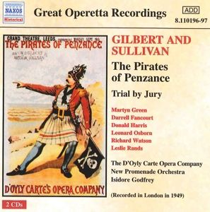 Piraten Von Penzance/Trial By, D'oyly Carte Opera Company