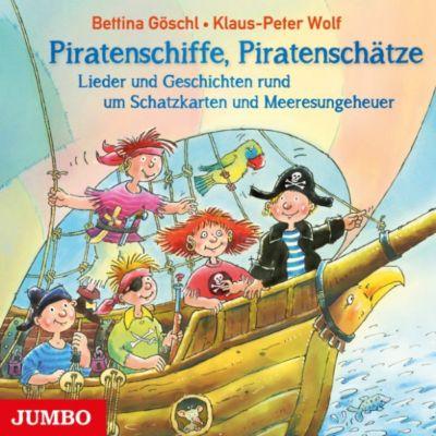 Piratenschiffe, Piratenschätze, Klaus-Peter Wolf, Bettina Göschl