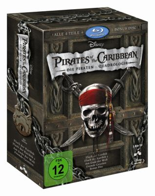 Pirates of the Caribbean 1 - 4 Box