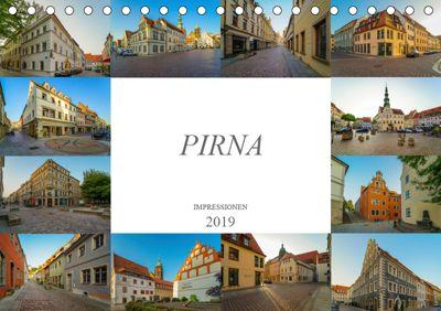 Pirna Impressionen (Tischkalender 2019 DIN A5 quer), Dirk Meutzner