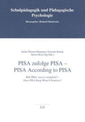 PISA zufolge PISA; PISA According to PISA