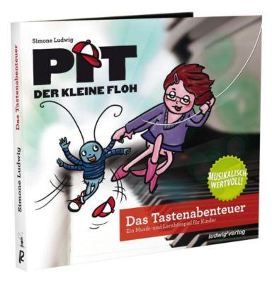 Pit der kleine Floh - Das Tastenabenteuer, 1 Audio-CD - Simone Ludwig |