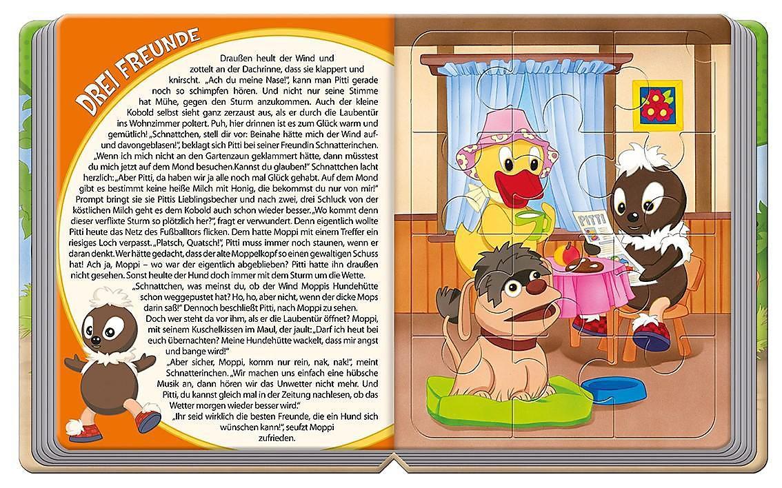 Pittiplatsch Puzzlebuch Buch Bei Weltbildde Online Bestellen