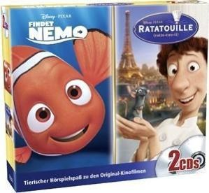 Pixar Family Box, 2 Audio-CD, Walt Disney