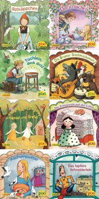 Pixi Bücher: Serie.217 Märchenstunde mit Pixi, 8 Hefte