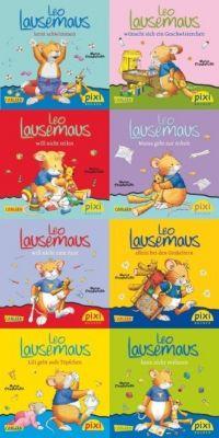 Pixi Bücher: Serie.219 Pixi-Buch 1985-1992 (Leo Lausemaus), 8 Hefte