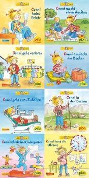 Pixi Bücher: Serie.220 Pixi-Buch 1993-1999, 2001 Meine Freundin Conni, (Neues von Conni), 8 Hefte