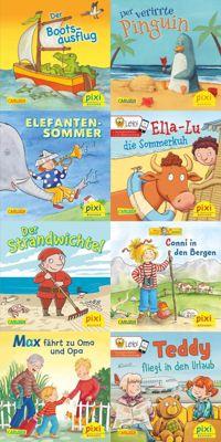 Pixi Bücher: Serie.238 Mit Pixi in die Ferien, 8 Hefte