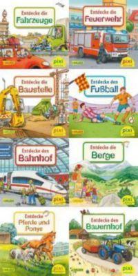 Pixi Bücher: Serie.240 Pixi-Buch 2179-2186 (Entdecke deine Welt 3), 8 Hefte