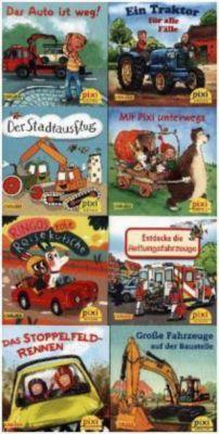 Pixi Bücher: Serie.247 Pixi-Buch 2239-2246 (Pixis bunte Fahrzeuge), 8 Hefte