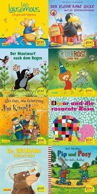 Pixi Bücher: Serie.254 Die beliebtesten Bilderbuch-Helden bei Pixi, 8 Hefte