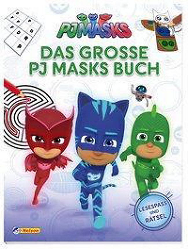 Pj Masks Das Große Pj Masks Buch Buch Bei Weltbild De Bestellen