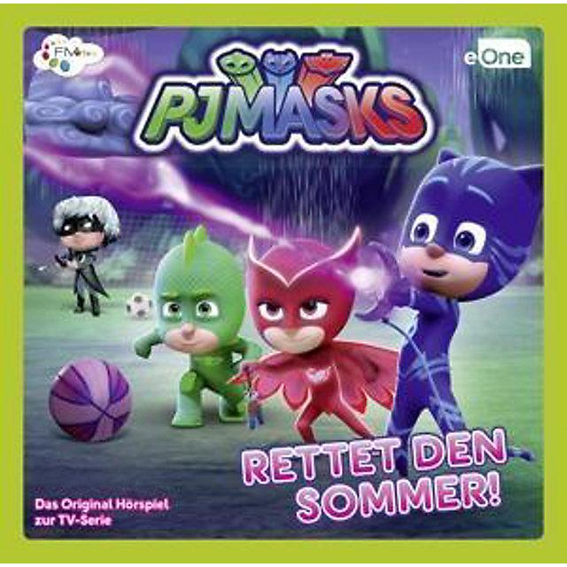 Pj Masks Rettet Den Sommer Audio Cd 1 Audio Cd Horbuch Kaufen