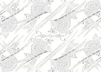 Placemat Pad Japanese Patterns - Produktdetailbild 8