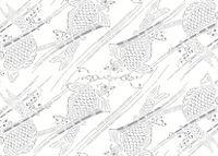 Placemat Pad Japanese Patterns - Produktdetailbild 16