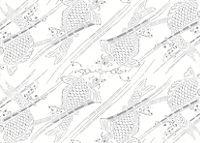 Placemat Pad Japanese Patterns - Produktdetailbild 16