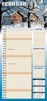 Planer für zwei 2018 - Kalender - Produktdetailbild 2