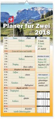 Planer für zwei 2018 - Kalender