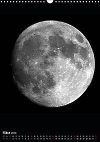 Planeten, Sonne, Monde (Wandkalender 2019 DIN A3 hoch) - Produktdetailbild 3