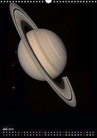 Planeten, Sonne, Monde (Wandkalender 2019 DIN A3 hoch) - Produktdetailbild 7