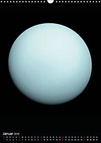 Planeten, Sonne, Monde (Wandkalender 2019 DIN A3 hoch) - Produktdetailbild 1