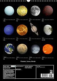 Planeten, Sonne, Monde (Wandkalender 2019 DIN A3 hoch) - Produktdetailbild 13
