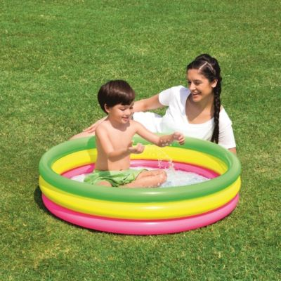 Planschbecken 102x25cm ''Summer Set Pool'' 3-Ringe