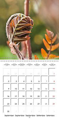 Plants close-up (Wall Calendar 2019 300 × 300 mm Square) - Produktdetailbild 9