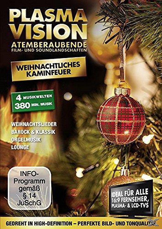 Plasma Vision - Weihnachtliches Kaminfeuer DVD   Weltbild.de