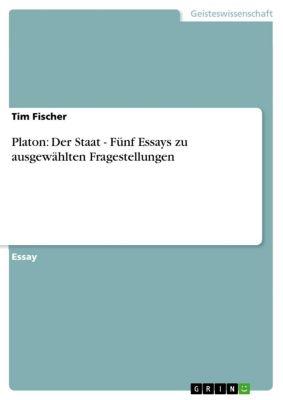 Platon: Der Staat - Fünf Essays zu ausgewählten Fragestellungen, Tim Fischer