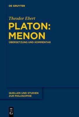 Platon: Menon, Theodor Ebert