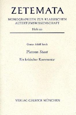 Platons Staat, Gustav Adolf Seeck