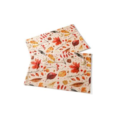 Platzmatten Herbstblätter, 2er-Set